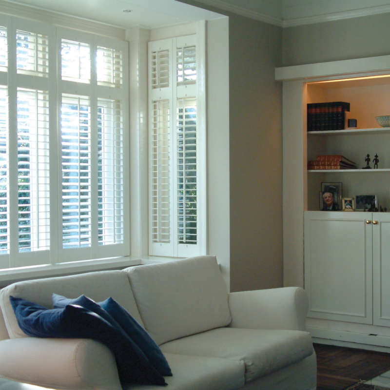 Bay Window Shutters Winchester Basingstoke Hampshire