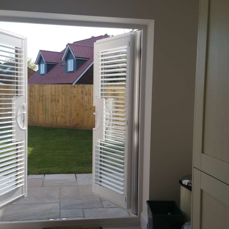 Patio Door Amp French Window Shutters Winchester Basingstoke