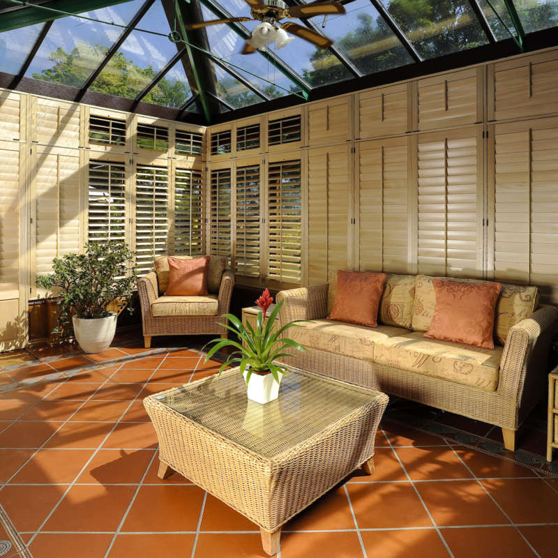 Conservatory Blinds And Window Shutters Hampshire The Great Shutter Co