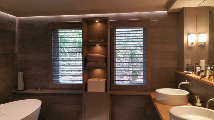 Waterproof Bathroom Shutters Romsey