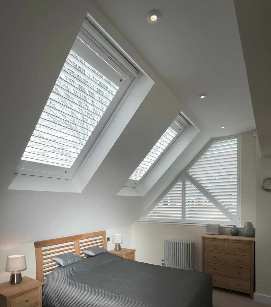 The Great Shutter Co Skylight Shutters