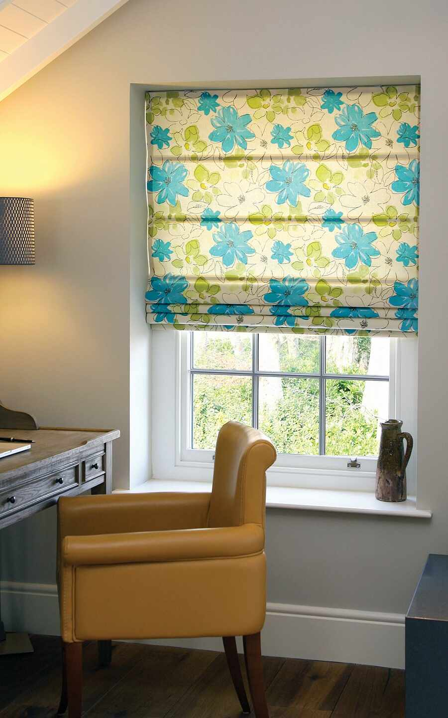 512-Posies-Lime-Teal-Roman-Blind-Andover-Hampshire